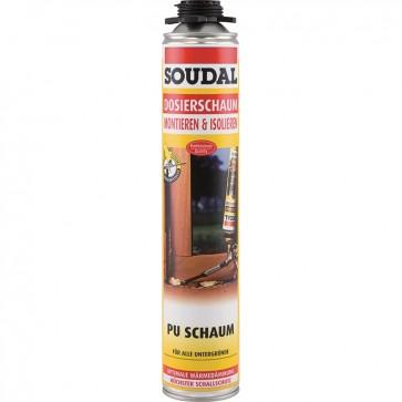 SOUDAL SOUDAFOAM GUN - PIŠTOLSKA 750 ml