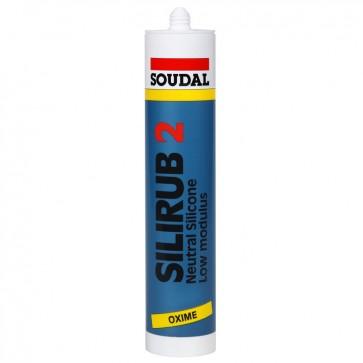 SOUDAL SILIRUB 2 RJAVA - 310 ml