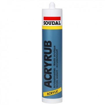 SOUDAL ACRYRUB BELA - 310 ml