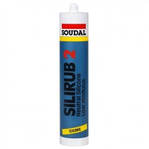 SOUDAL SILIRUB 2 ČRNA - 310 ml